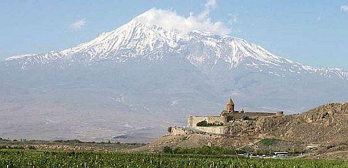 Ararat. Klasztor Khor Wirap