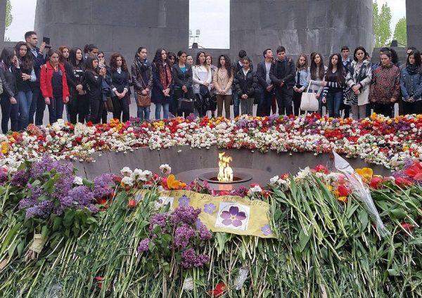 Kwiecień 2015, obchody setnej rocznicy ludobójstwa